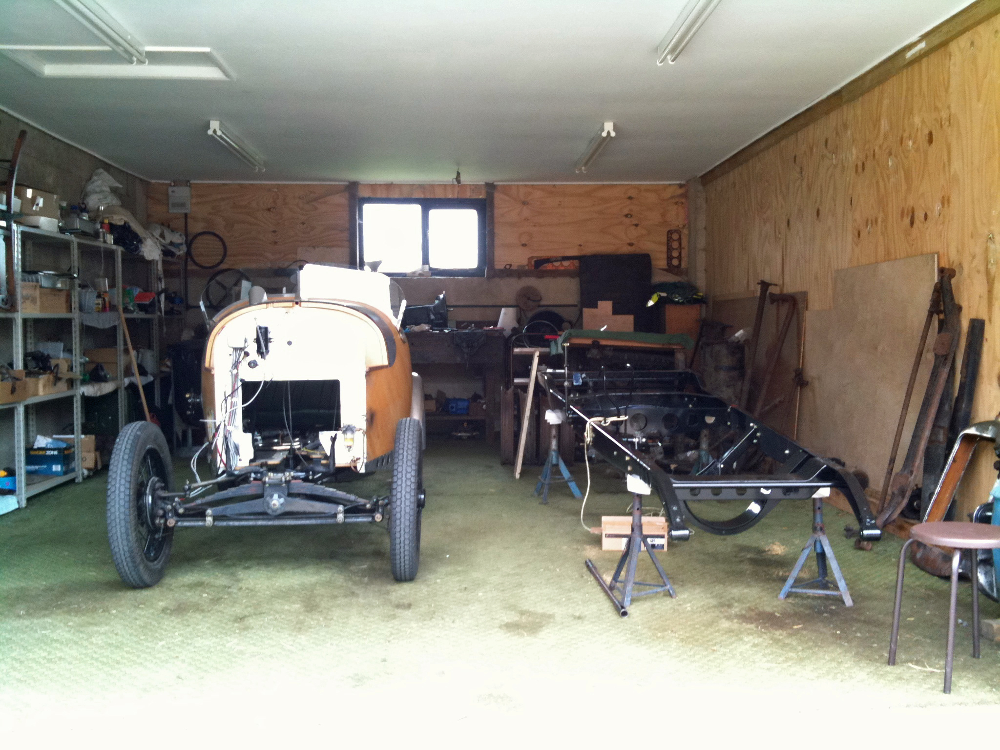 Uncategorized well pump house covers austin locking sump lid - Back Home I Opened The Workshop Door And Surveyed The Amount Of Work Still To Do I Ve Yet To Get The Parts Back To Reassemble The Austin That Ll Be A