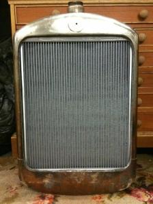 Radiator front