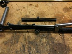 Handbrake lever extension