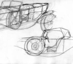 Spare wheel position