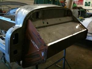 Jowett bulkhead
