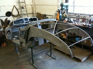 Jowett body frame