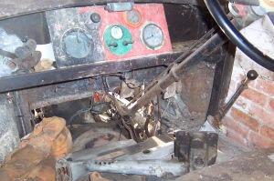 Hillman cockpit