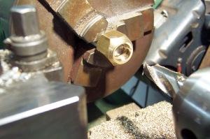 Counter bore wheel nut
