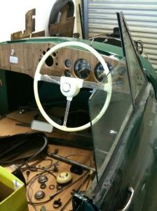 Jowett steering wheel