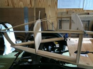 Body lower rails