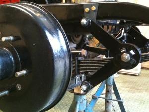 front offside friction damper