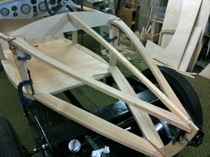 Rear framework