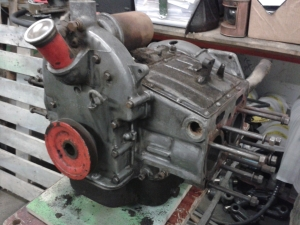 Le Mans Jowett engine