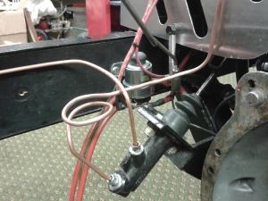 Brake pipe renewal