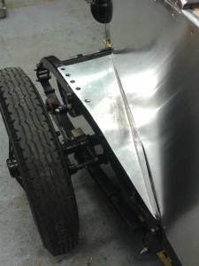 Rear fairing