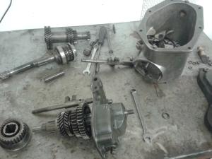Morris Minor gearbox