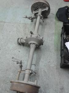 Hillman rear axle