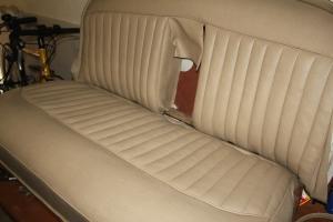 Jowett Jupiter upholstery