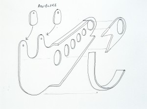 Radius arm 2