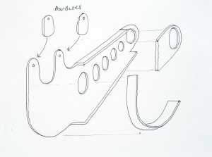 Radius arm sketch
