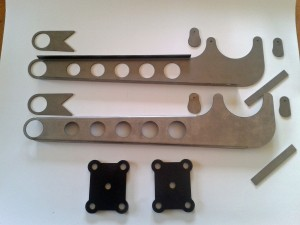Radius arm kit