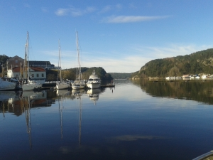 Halden harbour
