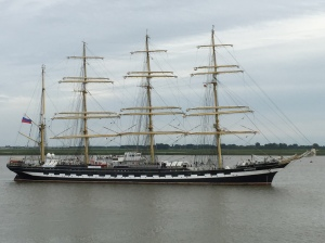 Tall ship. Copyright C. Rayner