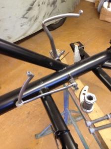 Pedal box detail
