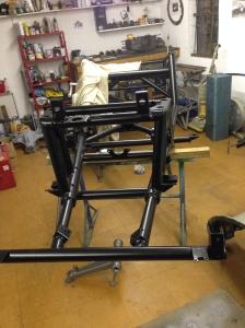 Jowett chassis