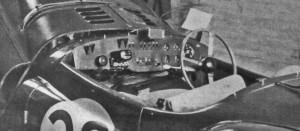 Le Mans cockpit