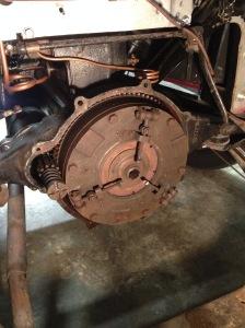 Morris Minor flywheel