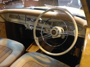 Borgward cockpit