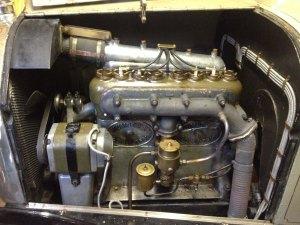 1914 Humber engine
