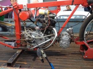 BSA C15 engine