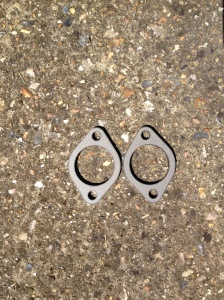 Morris 6 exhaust gasket patterns